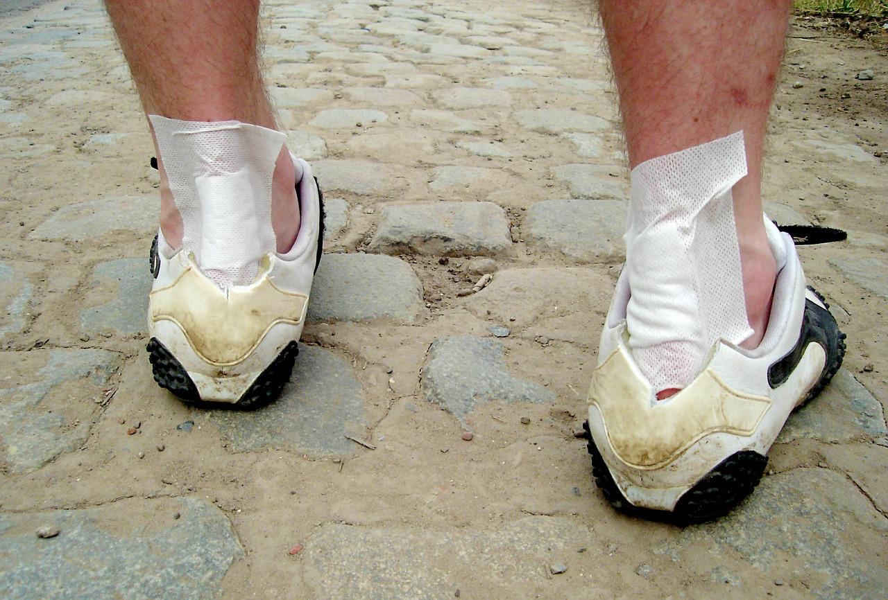 Co zrobić żeby buty nie obcierały